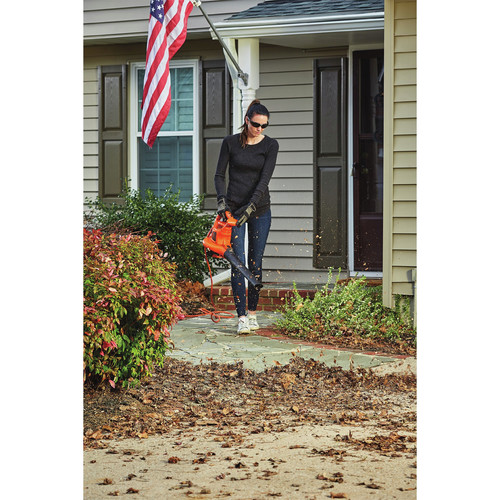 Black & Decker BEBL7000 3-in-1 VACPACK 12 Amp Leaf Blower, Vacuum and Mulcher image number 10