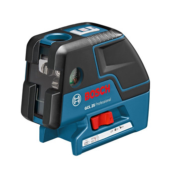Bosch GCL25 Self-Leveling 5-Point Alignment Laser with Cross-Line image number 0