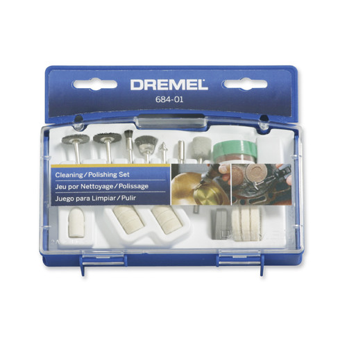Dremel 684-01 Cleaning and Polishing Accessory Set