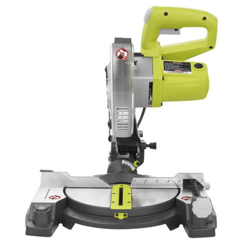 Factory Reconditioned Ryobi ZRTS1143L 9 Amp 7-1/4 in. Miter Saw with EXACTLINE Laser