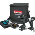 Makita CX200RB 18V LXT Sub-Compact Lithium-Ion 1/2 in. Cordless Drill Driver/ Impact Driver Combo Kit (2 Ah) image number 0