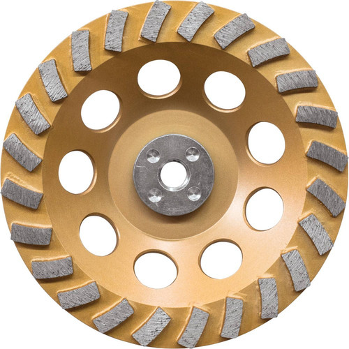 Makita A-96425 7 in. Anti-Vibration 24 Segment Turbo Diamond Cup Wheel