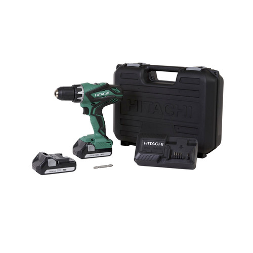 Factory Reconditioned Hitachi DS18DGL 18V 1.3 Ah Cordless Lithium-Ion 1/2 in. Drill Driver