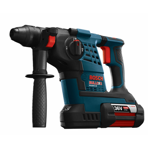 Bosch RH328VC-36K 36V Cordless Lithium-Ion 1-1/8 in. SDS Plus Rotary Hammer Kit image number 0