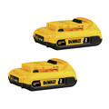Dewalt DCB203-2 20V MAX XR 2 Ah Lithium-Ion Battery (2 Pc)