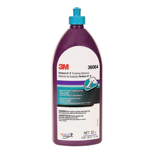 3M 36064 Perfect-It 1 Finishing Material Quart Bottle