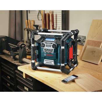 Factory Reconditioned Bosch PB360C-RT 18V Cordless Lithium-Ion Power Box Jobsite AM/FM Radio/Charger/Digital Media Stereo (Tool Only) image number 14