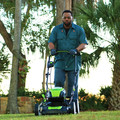 Greenworks GLM801601 80V Lithium-Ion 21 in. 3-in-1 Lawn Mower Kit image number 2