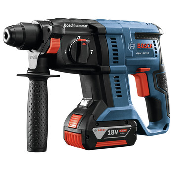 Factory Reconditioned Bosch GBH18V-20K21-RT 18V 3/4 in. SDS-plus Rotary Hammer Kit image number 2