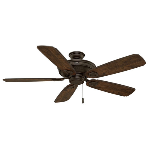 Casablanca 59528 Heritage 60 in. Transitional Brushed Cocoa Reclaimed Antique Veneer Outdoor Ceiling Fan