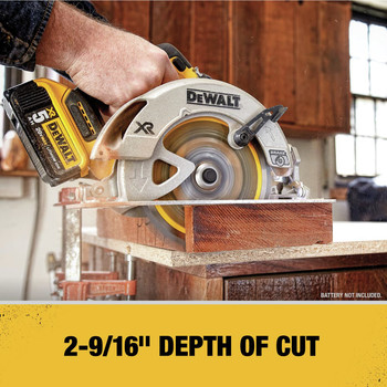 Dewalt DCS570B 20V MAX Li-Ion 7-1/4 in. Cordless Circular Saw (Tool Only) image number 4