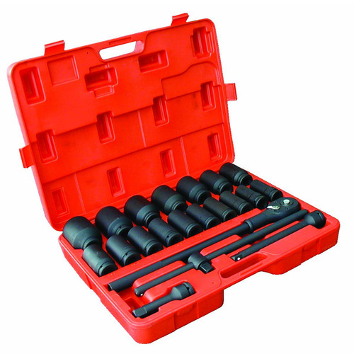 ATD 6405 22-Piece 3/4 in. Drive 6-Point SAE Deep Impact Socket Set image number 0