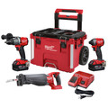 Milwaukee 2997-23SPO M18 FUEL 2-Piece Combo Kit with SAWZALL & PACKOUT