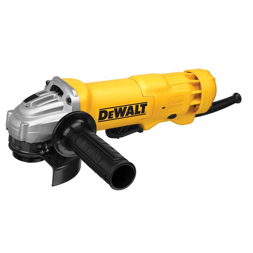Factory Reconditioned Dewalt DWE402W5R 4-1/2 in. 11 Amp Paddle Switch Angle Grinder Kit