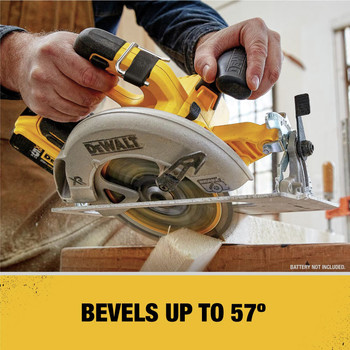 Dewalt DCS570B 20V MAX Li-Ion 7-1/4 in. Cordless Circular Saw (Tool Only) image number 3