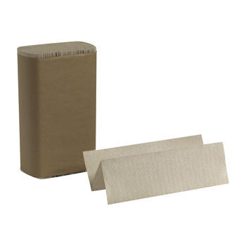 Georgia Pacific Professional 23304 Multifold Paper Towel, 9 1/5 X 9 2/5, Brown, 250/pack, 16 Packs/carton