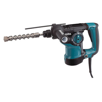 Makita HR2811FX 1-1/8 in. 3-Mode SDS-PLUS Rotary Hammer with FREE 4-1/2 in. Angle Grinder image number 1