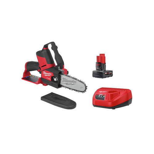 Milwaukee 2527-21 M12 FUEL HATCHET Brushless Lithium-Ion 6 in. Cordless Pruning Saw Kit (4 Ah) image number 0