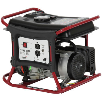 Factory Reconditioned Powermate PM0141201R 1,200 Watt Portable Generator with Manual Start image number 1