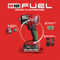 Milwaukee 2962-22 M18 FUEL Lithium-Ion Brushless Mid-Torque 1/2 in. Cordless Impact Wrench Kit with Friction Ring (5 Ah) image number 6