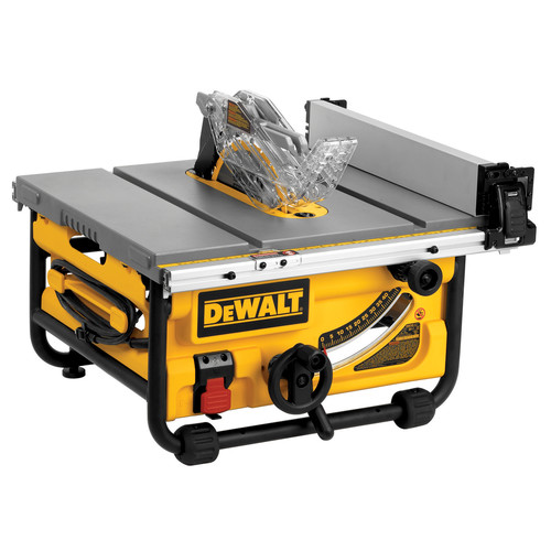 Dewalt DWE7480 10 in. 15 Amp Site-Pro Compact Jobsite Table Saw image number 0