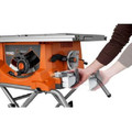 Factory Reconditioned Ridgid ZRR4513 15 Amp 10 in. Portable Table Saw with Mobile Stand image number 1