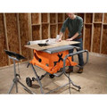 Factory Reconditioned Ridgid ZRR4513 15 Amp 10 in. Portable Table Saw with Mobile Stand image number 4