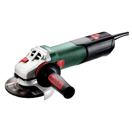 Metabo 603627420 W 13-125 Quick 12 Amp 11,000 RPM 4.5 in. / 5 in. Corded Angle Grinder with Lock-on image number 0