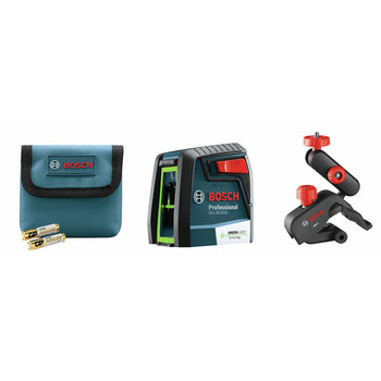 Bosch GLL40-20G Green-Beam Self-Leveling Cross-Line Laser image number 4