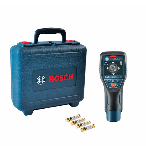 Factory Reconditioned Bosch D-TECT-120-RT Lithium-Ion Wall and Floor Detection Scanner