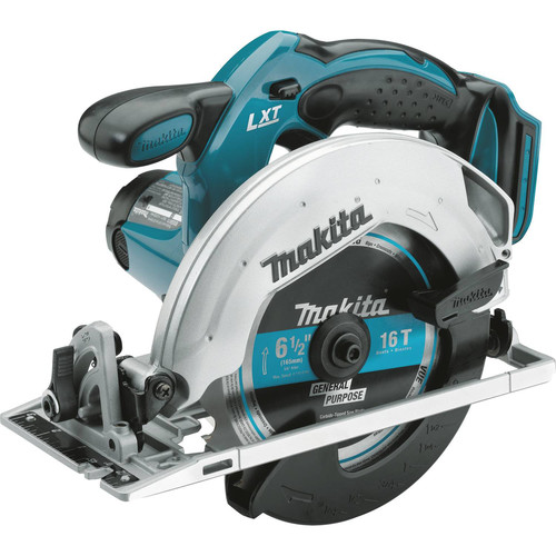 Makita XSS02Z 18V LXT Lithium-Ion 6-1/2 in. Circular Saw (Tool Only) image number 0