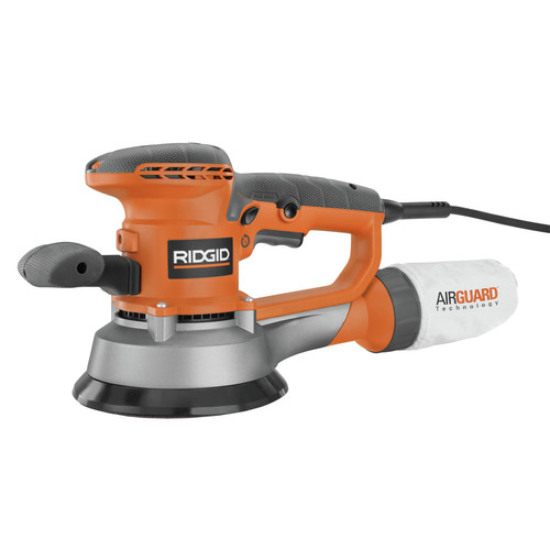 Factory Reconditioned Ridgid ZRR2611 4 Amp 6 in. Random Orbit Sander