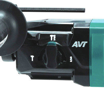 Makita XRH12TW 18V LXT Lithium-Ion 5.0 Ah Brushless 11/16 in. AVT SDS-PLUS AWS Capable Rotary Hammer Kit with HEPA Dust Extractor image number 2