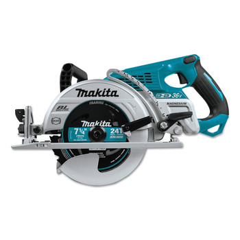 Factory Reconditioned Makita XSR01Z-R 18V X2 LXT Cordless Lithium-Ion Brushless 7-1/4 in. Rear Handle Circular Saw