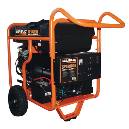 Generac 5734 GP Series 15,000 Watt Portable Generator image number 0