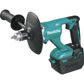 Makita XTU02T 18V LXT Lithium-Ion Brushless 1/2 in. Cordless Mixer Kit (5 Ah) image number 2