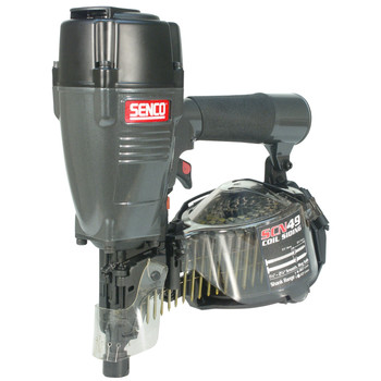SENCO SCN49 ProSeries 15 Degree 2-1/2 in. Full Round Head Coil Siding Nailer