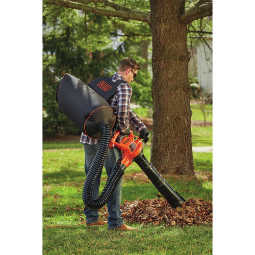 Black & Decker BEBL7000 3-in-1 VACPACK 12 Amp Leaf Blower, Vacuum and Mulcher image number 6