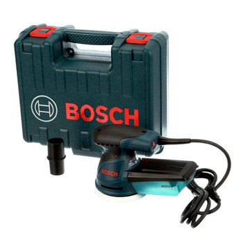 Bosch ROS20VSK 5 in. VS Random Orbit Palm Sander Kit with Hardshell Case