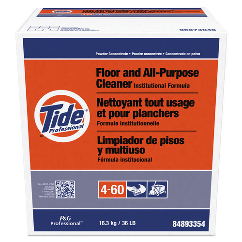 Tide Professional 02364 Floor And All-Purpose Cleaner, 36lb Box image number 0