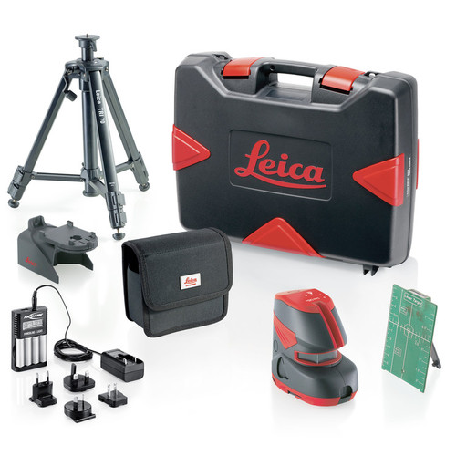 Leica Lino L2G+ 180 Degree Green Cross Line Laser Pro Kit