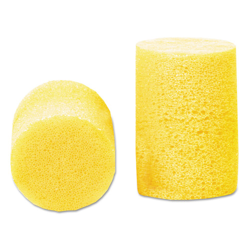 3M 310-1001 E A R Classic Earplugs, Pillow Paks, Uncorded, Pvc Foam, Yellow, 200 Pairs image number 0