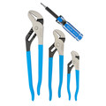 Channellock GS-3SA Tongue and Groove Plier set (4 Piece) image number 0