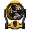 Dewalt DCE511B 20V MAX Cordless Lithium-Ion / Corded Jobsite Fan (Bare Tool)