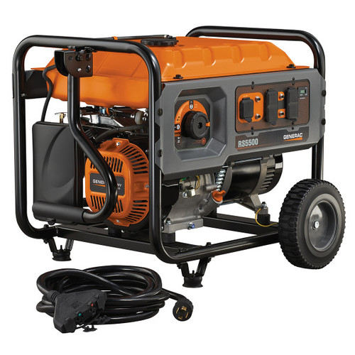 Generac RS5500 5,500 Watt Portable Generator with Cord