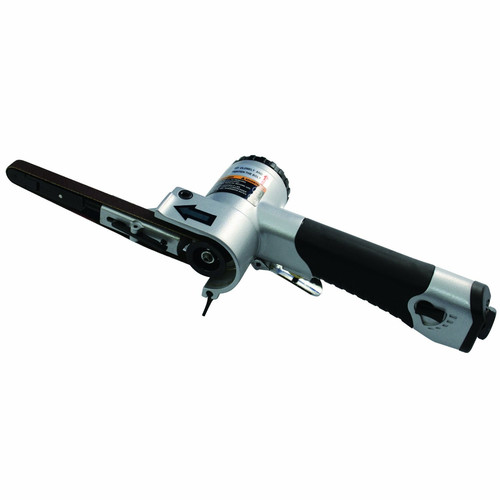 Astro Pneumatic 3036 Air Belt Sander with 3/8 in. x 13 in. 80/100/120-Grit Belts