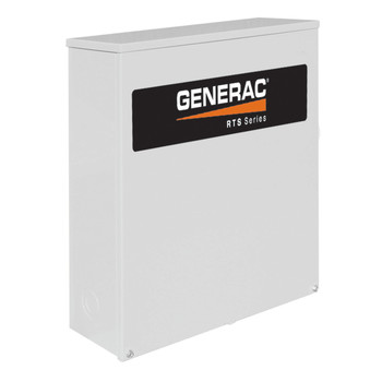 Generac RTSN400K3 RTS 400 Amp 277/480 3-Phase RTS Transfer Switch for 22 - 60 kW Generators
