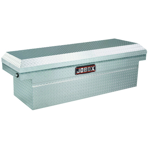 JOBOX JAC1391980 Aluminum Single Lid Mid-size Crossover Truck Box (ClearCoat)