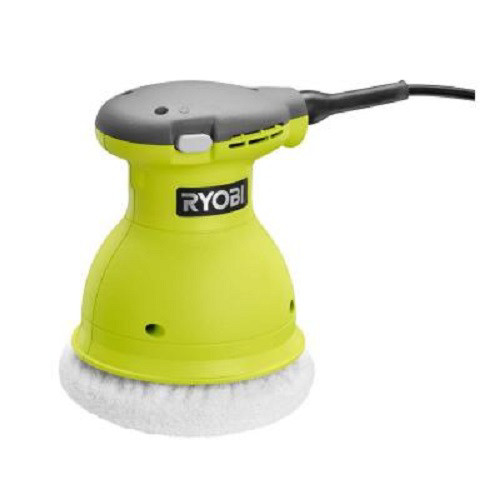 Factory Reconditioned Ryobi ZRRB61G 0.5 Amp 6 in. Orbital Buffer (Green)