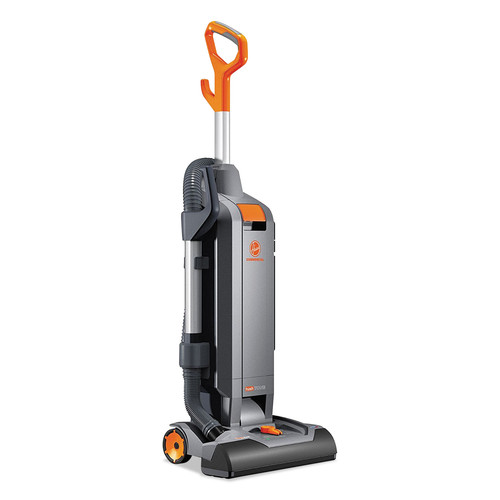 Hoover Commercial CH54115 Hushtone Vacuum Cleaner With Intellibelt, 15-in, Orange/gray image number 0